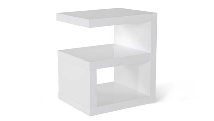 Jayden Side Table - White