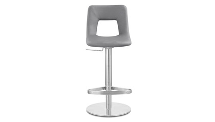 Slate Jazz Bar Stool - Round Flat Base