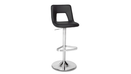 Jazz Black Bar Stool