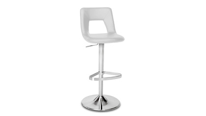 Grey Jazz Bar Stool