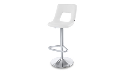 White Jazz Bar Stool