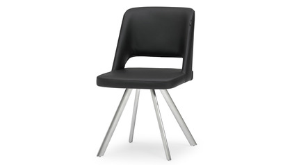 Juneau Dining Chair - Brushed Stainless