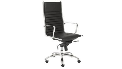 Kinsey High Back Office Chair - Chrome Base