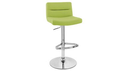 Lime Green Lattice Bar Stool