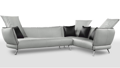 Vitali Sectional - Light Grey