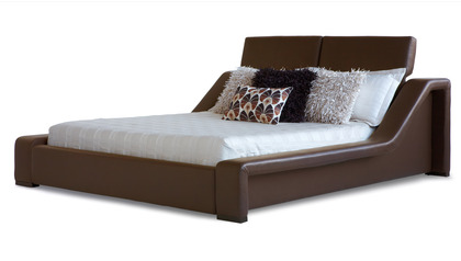 London Leather Bed