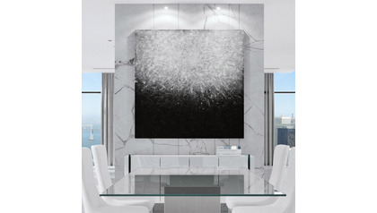 "Lunar Tranquillity Canvas Art - 60"" x 60"""