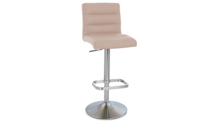 Taupe Lush Bar Stool