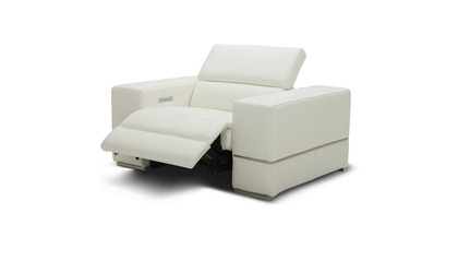 Luxor Reclining Chair - Ivory