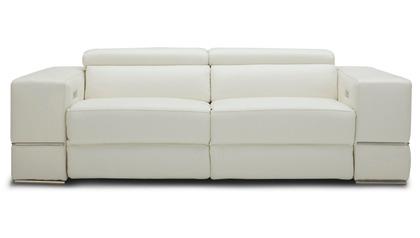 Luxor Reclining Sofa - Ivory