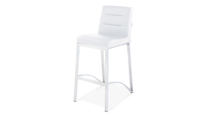 White Lynx Counter Stool