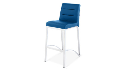 Lynx Counter Stool - Dark Blue