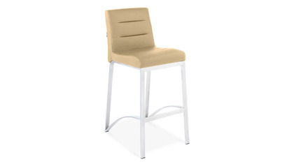 Taupe Lynx Counter Stool