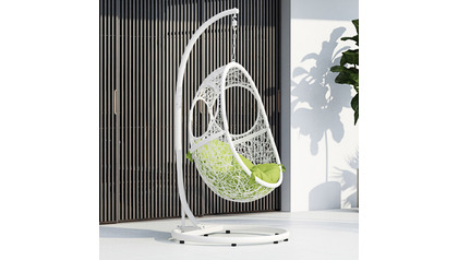 Malaga Swing Chair - White