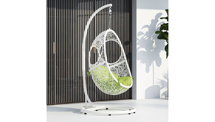Malaga Swing Chair - White