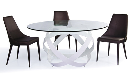 "Mambo 59"" Round Dining Table"
