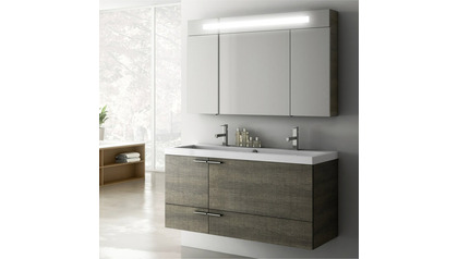 New Space 47 Inch Vanity Set with Medicine Cabinet