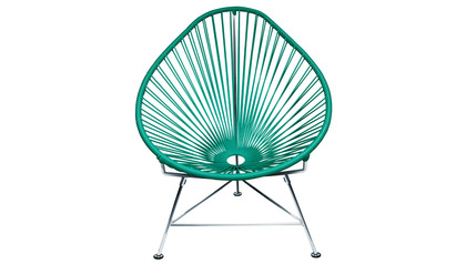 Baby Acapulco Chair - Chrome Frame