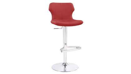 Red Ellery Bar Stool