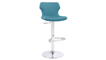 Teal Ellery Bar Stool