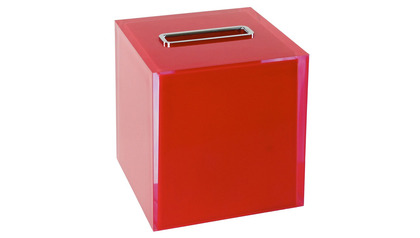 Rainbow Tissue Box Cover - Tall