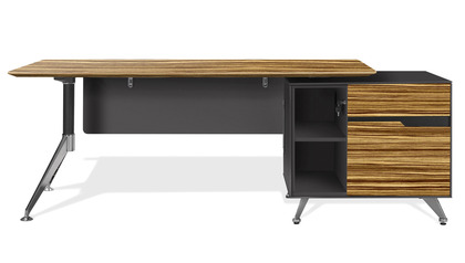 Darin Executive Desk with Right Cabinet