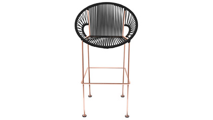 Puerto Bar Stool - Copper Frame