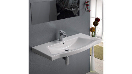 Argona Rectangle Ceramic 48 Inch Sink
