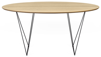 "Aventine 59"" Round Trestle Table"