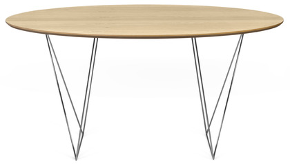 Aventine 59 Inch Round Trestle Table