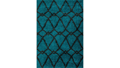 Diagon Chain Shag Rug
