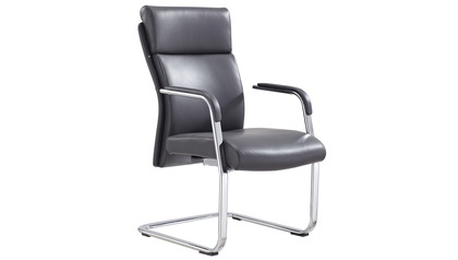 Draper Guest Chair-Dark Grey