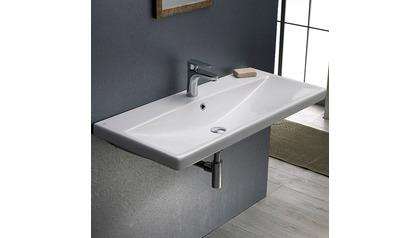 Elite Rectangle Ceramic 40 Inch Sink