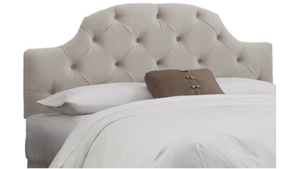 Evie Tufted Curved Headboard - Twin