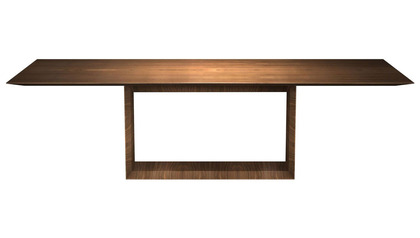 Galice 106 Inch Rectangular Dining Table - Walnut