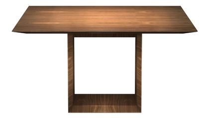 Galice Square Dining Table - Walnut