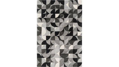 Brilliance Area Rug - Gray Pattern