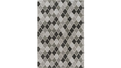Brilliance Area Rug - Light Gray/Gray Pattern