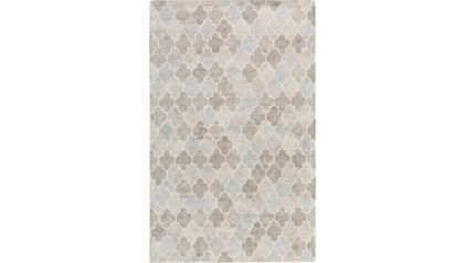 Brilliance Area Rug - Light Gray/Slate Pattern