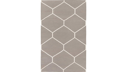 Sonic Taupe/Ivory Rug