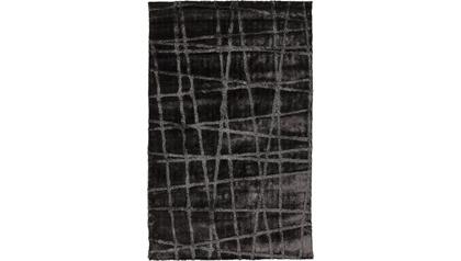 Graph Area Rug - Charcoal