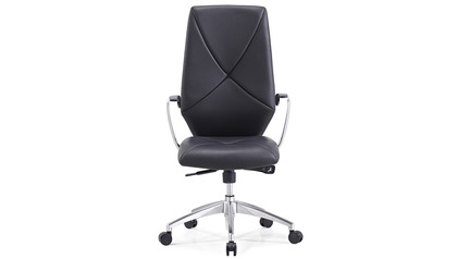 Hearst Black Leather Executive Chair