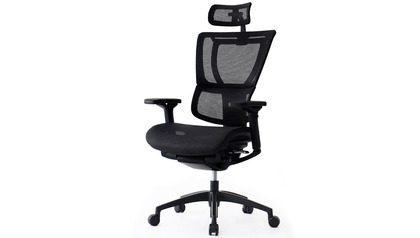 iOO Mesh Swivel Chair with Headrest
