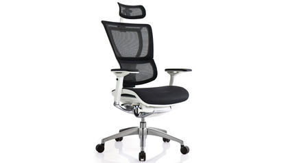 iOO Mesh Swivel Chair with Headrest