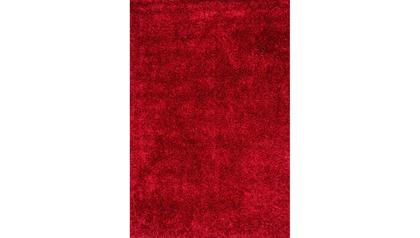 Ipanema Uno Shag Rug - Red