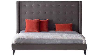 Modena Bed- Pebble