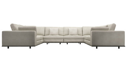 Persis U Sectional Sofa