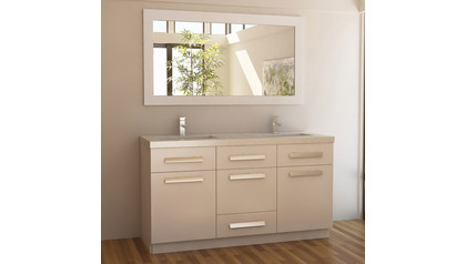 "Rissa 60"" Double Sink Vanity Set"