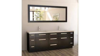 "Rissa 84"" Double Sink Vanity Set"