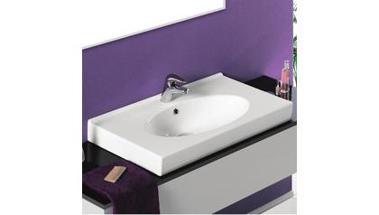 Rita Rectangle Ceramic 32 Inch Sink